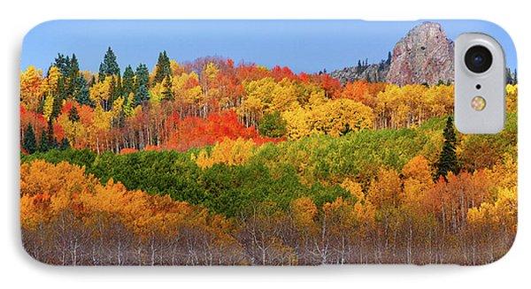 The Autumn Blanket IPhone Case by John De Bord