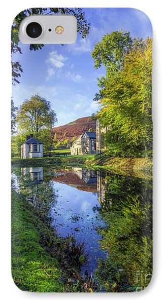IPhone Case featuring the photograph The Autumn Pond by Ian Mitchell