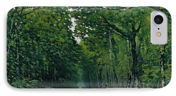 The Avenue Of Chestnut Trees Phone Case by Alfred Sisley
