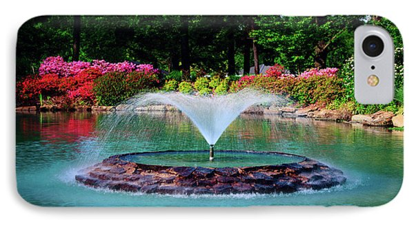 The Azalea Pond At Honor Heights Park IPhone Case by Tamyra Ayles