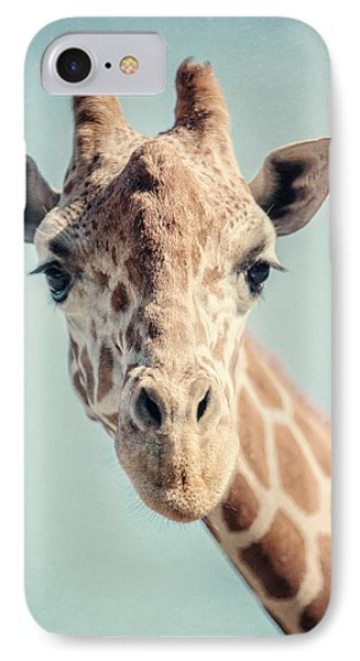 The Baby Giraffe IPhone 7 Case by Lisa Russo
