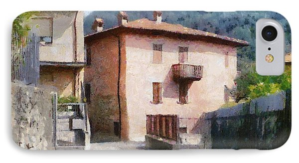 The Back Street Towards Home Phone Case by Jeff Kolker