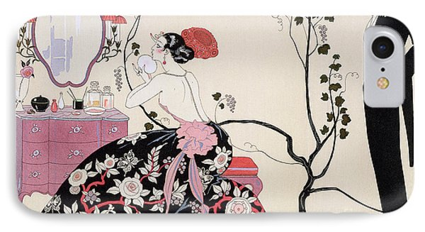 The Backless Dress IPhone Case by Georges Barbier