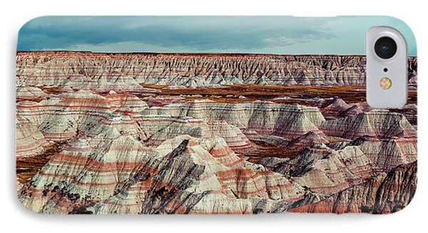 The Badlands Of South Dakota I IPhone Case by Tom Mc Nemar
