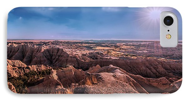 The Badlands Of South Dakota II IPhone Case by Tom Mc Nemar