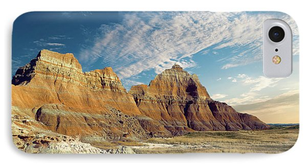 The Badlands Of South Dakota IPhone Case by Tom Mc Nemar
