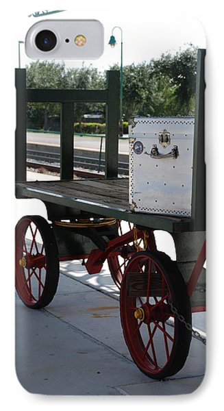The Baggage Cart And Truck Phone Case by Rob Hans
