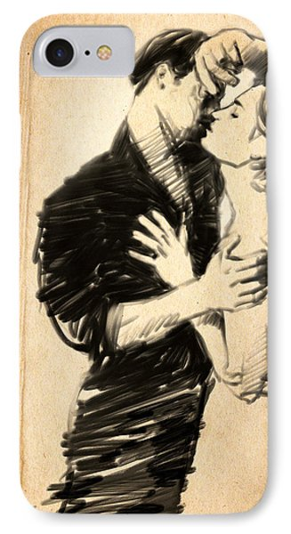 The Balcony IPhone Case by H James Hoff