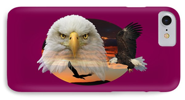 IPhone Case featuring the photograph The Bald Eagle 2 by Shane Bechler