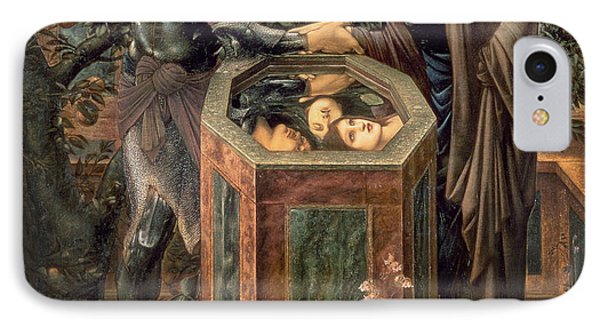 The Baleful Head IPhone Case by Sir Edward Burne-Jones