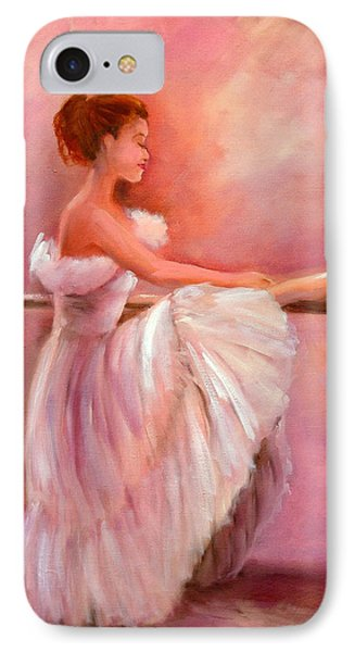 The Ballerina Phone Case by Sally Seago