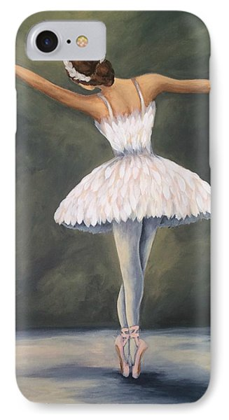 The Ballerina V IPhone Case by Torrie Smiley