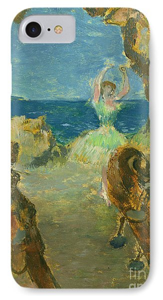 The Ballet Dancer IPhone Case by Edgar Degas