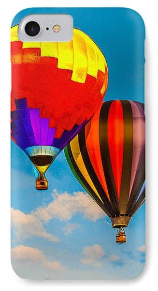 The Balloon Duet - Pa IPhone Case by Leonardo Digenio