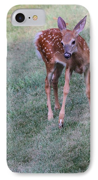 The Bambi Stance Phone Case by Karol Livote