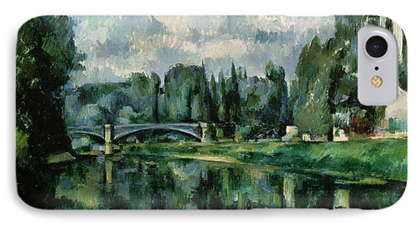 The Banks Of The Marne At Creteil IPhone Case