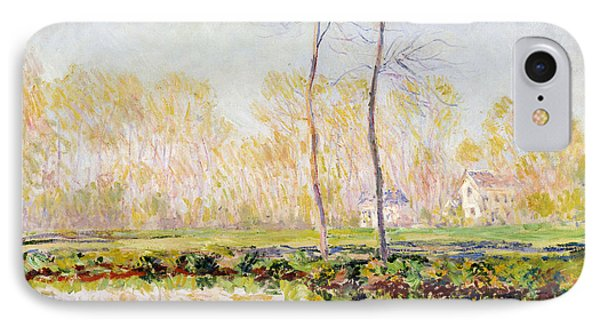 The Banks Of The River Epte At Giverny Phone Case by Claude Monet