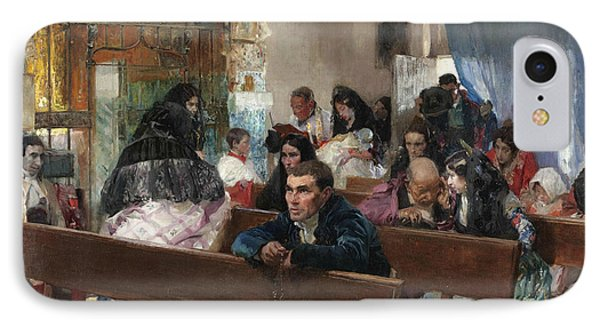 The Baptism IPhone Case by Joaquin Sorolla