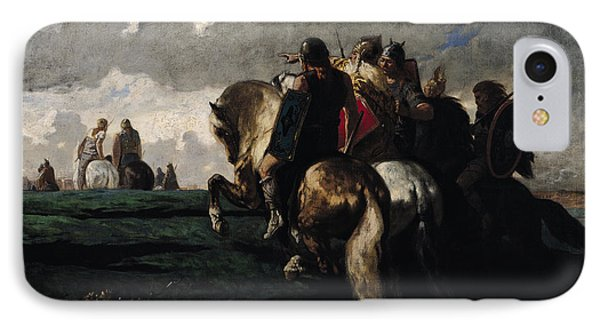 The Barbarians Before Rome IPhone Case by Evariste Vital  Luminais