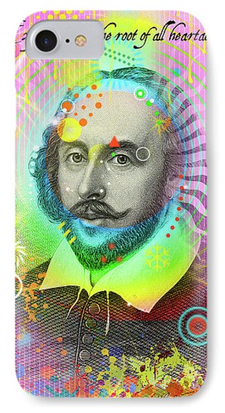The Bard IPhone Case by Gary Grayson