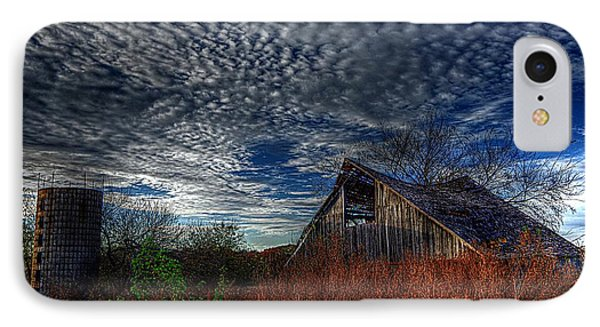The Barn At Twilight IPhone Case