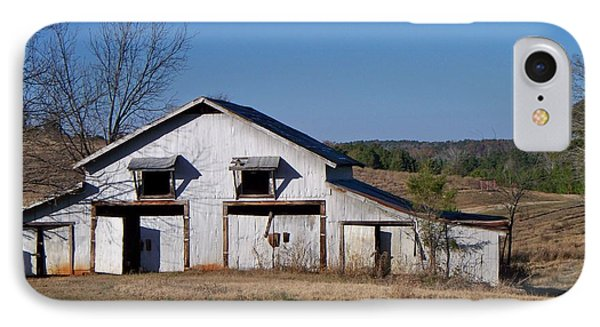 IPhone Case featuring the photograph The Barn by Betty Northcutt