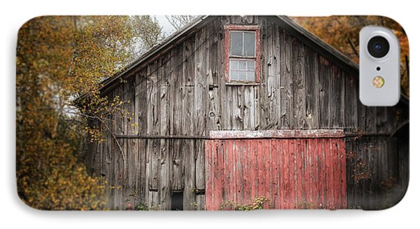 The Barn With The Red Door IPhone Case by Lisa Russo