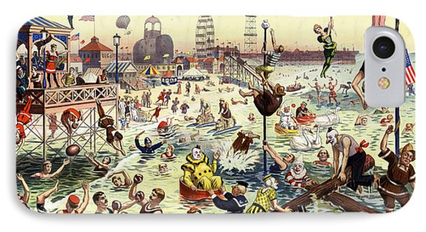 The Barnum And Bailey Greatest Show On Earth The Great Coney Island Water Carnival IPhone Case