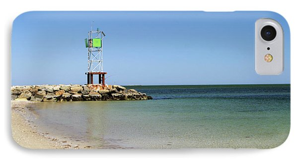 The Bass River Jetty South Yarmouth Cape Cod Massachusetts Phone Case by Michelle Wiarda