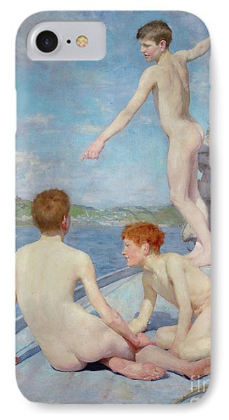 The Bathers, 1889 IPhone Case