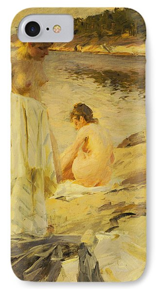 The Bathers IPhone Case by Anders Leonard Zorn