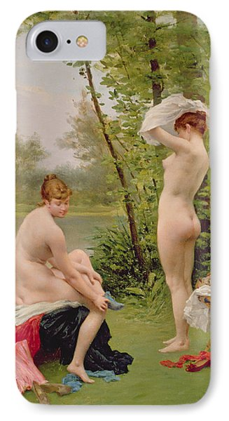 The Bathers IPhone Case by Jules Scalbert