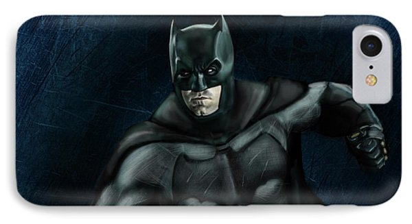 The Batman IPhone 7 Case by Vinny John Usuriello