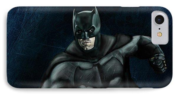 The Batman IPhone Case by Vinny John Usuriello