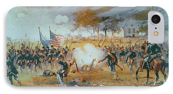 The Battle Of Antietam IPhone Case by Thure de Thulstrup