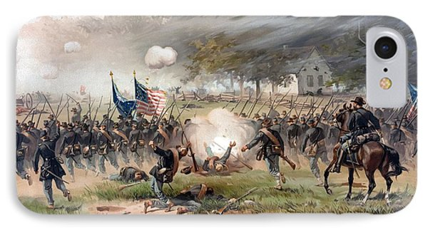 The Battle Of Antietam IPhone Case by War Is Hell Store