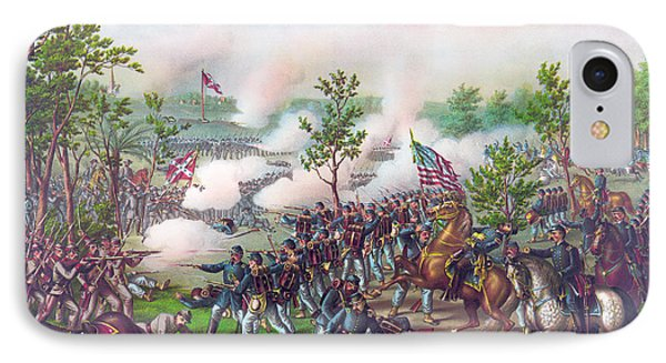 The Battle Of Atlanta, IPhone Case by American School