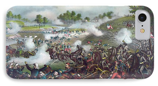 The Battle Of Bull Run IPhone Case by American School