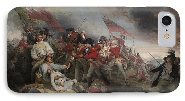 The Battle Of Bunker's Hill On June 17th 1775 IPhone Case