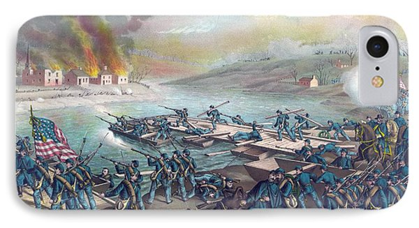 The Battle Of Fredericksburg IPhone Case by American School