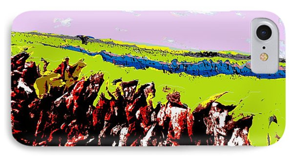 The Battle Of Gorseberry Plain IPhone Case by Cliff Wilson
