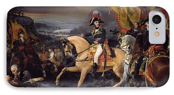 The Battle Of Hohenlinden Phone Case by Henri Frederic Schopin