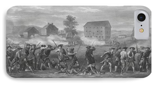 The Battle Of Lexington Phone Case by War Is Hell Store