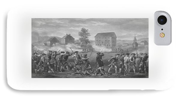 The Battle Of Lexington IPhone Case by War Is Hell Store