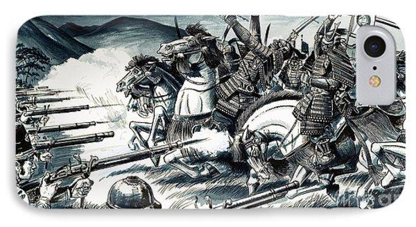 The Battle Of Nagashino In 1575 IPhone Case by Dan Escott