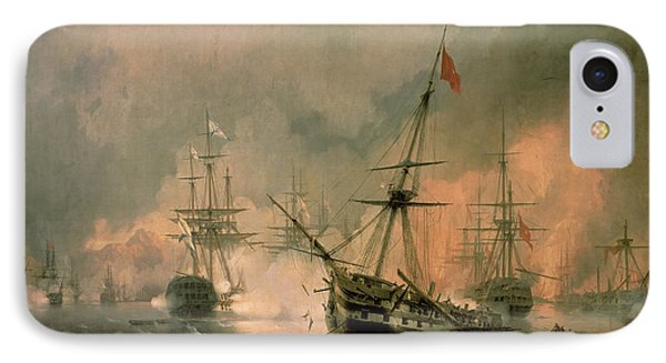 The Battle Of Navarino IPhone Case