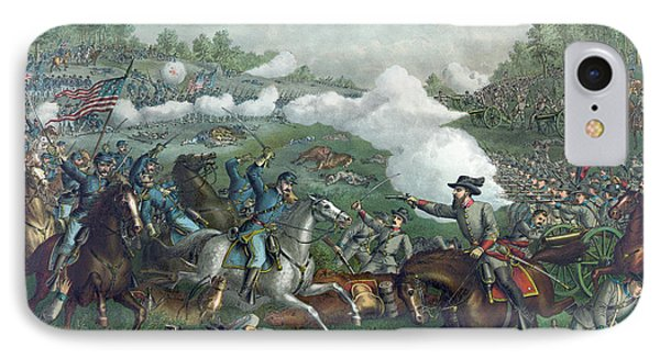 The Battle Of Opequan IPhone Case by American School