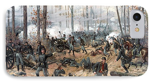 The Battle Of Shiloh IPhone Case by War Is Hell Store