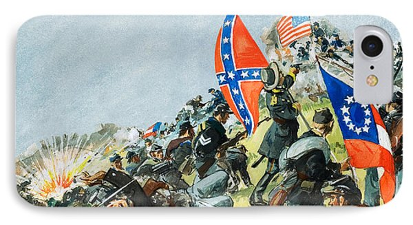The Battlefield At Gettysburg IPhone Case