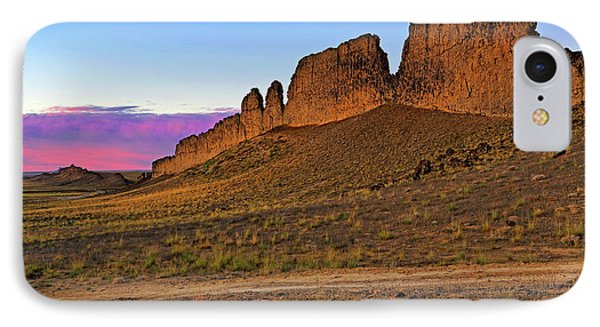 The Battlements Of Shiprock - New Mexico - Landscape Phone Case by Jason Politte
